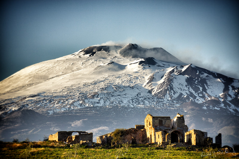 Mt. Etna (Signed Edition)
