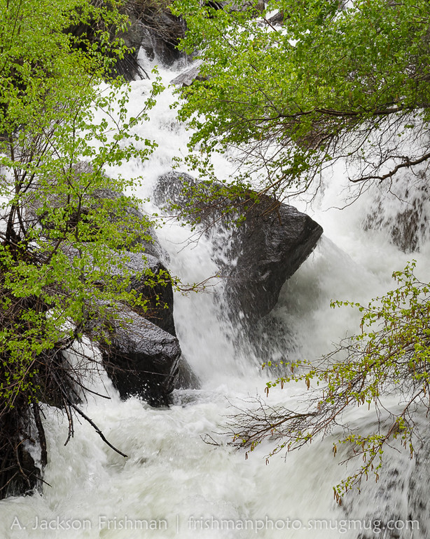 Spring runoff on Big Pine Creek