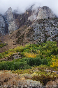 Autumn storm in McGee Creek Canyon, Sierra Nevada, California, September 2014.