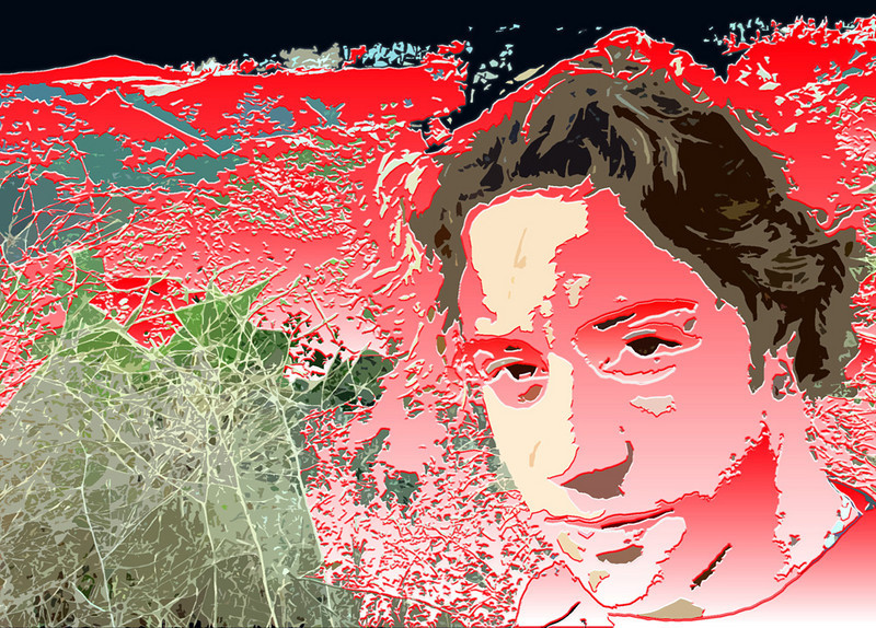 Image 19   July 2003 Self Portrait