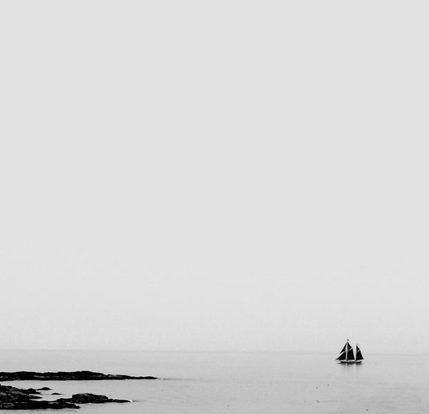Image  #45  Becalmed, Swans Island, ME