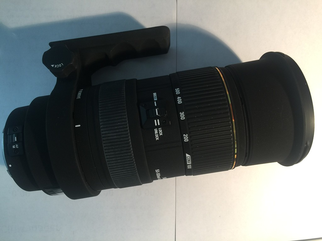 Sigma 50-500mm f1:4-6 3 APO DG HSM for Canon Used -- Classifieds