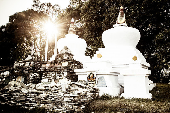 Lightful Stupas
