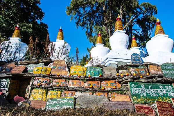 Stupas and Mantras