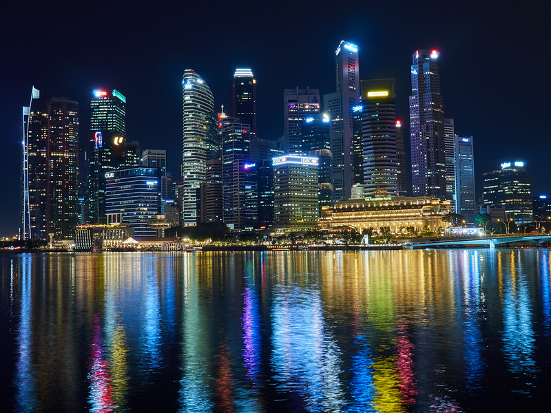 Skyline and Reflections - Singapore