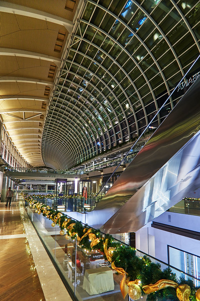 Interior, The Shoppes at the Mariana Bay Sands - Singapore
