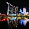 Marina Bay Sands and Museum - Singapore