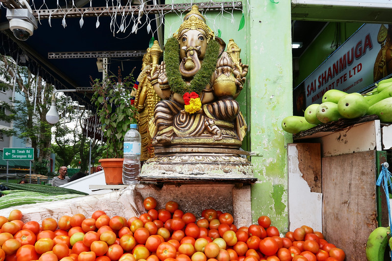 Ganesh in Little India - Singapore