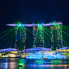 Light Show, Marina Bay Sands - Singapore