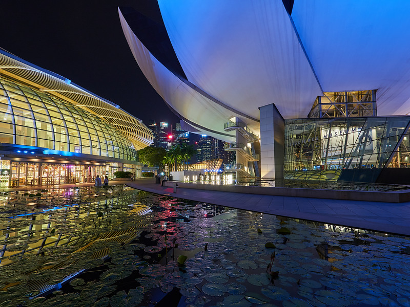 Mall and Museum - Singapore