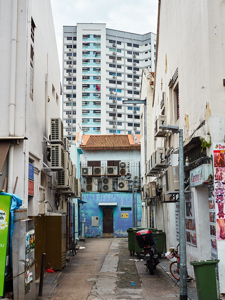Alleyway and Air Conditioners - Singapore