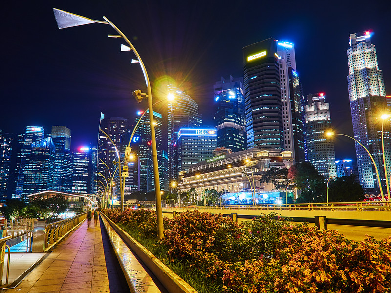 Downtown Leading Lines - Singapore