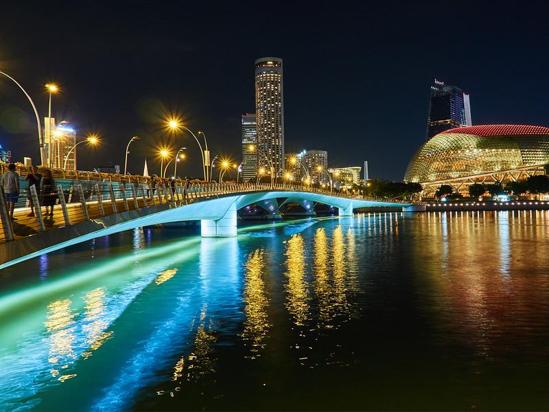 Esplanade and Bridge - Singapore