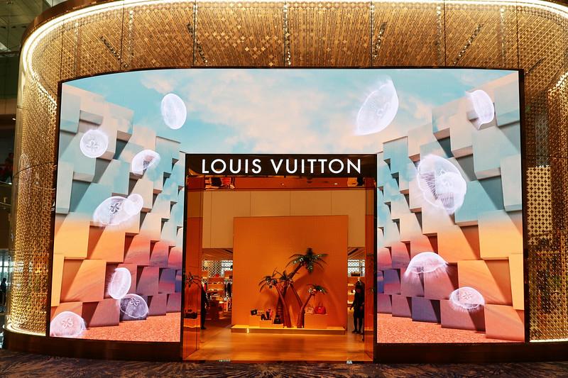 Animated Louis Vuitton - Singapore