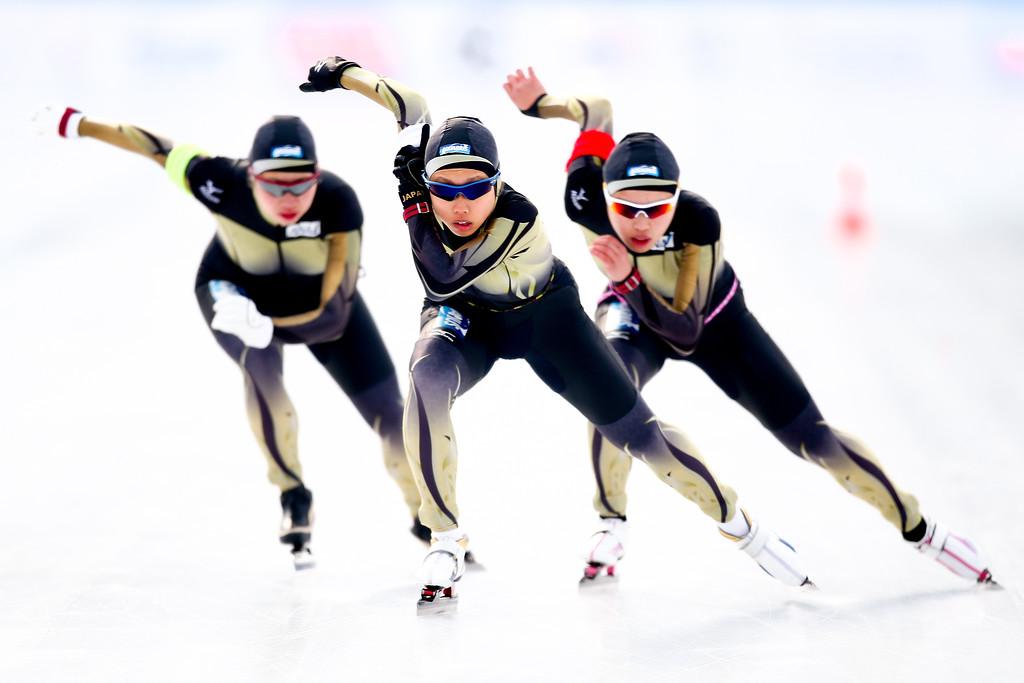 ISU World Junior Speed Skating Championships - Day 3