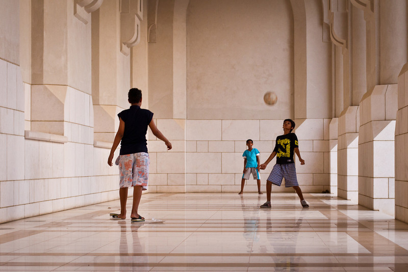 Football in Muscat