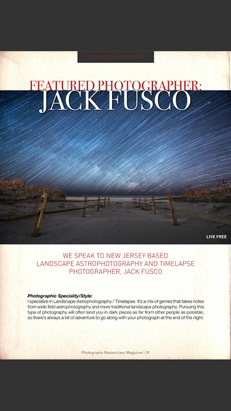 Photography Masterclass Jack Fusco Featured Photographer
