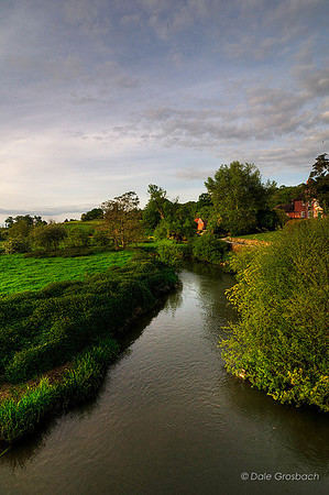 River Lugg at Mordiford