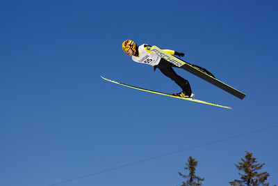 World Cup Ski Flying Vikersund 2009 - Noriaki Kasai, the Japanese veteran who competed among the very best 15 years after he participated in the Lillehammer Olympics