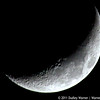 Winter Waxing Crescent Moon