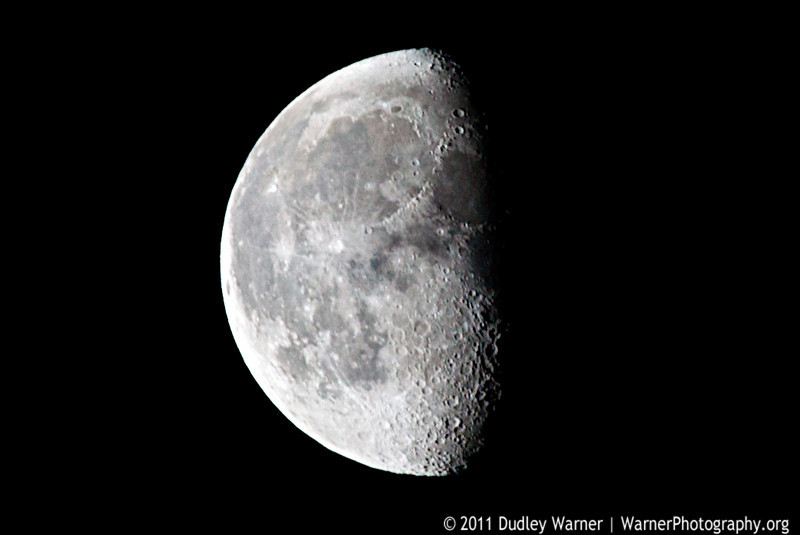 Winter Last Quarter Moon