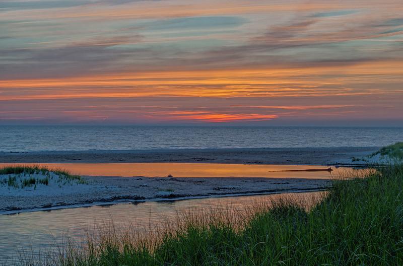 Lake Michigan Sunset 01