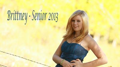 Brittney - Senior 2013