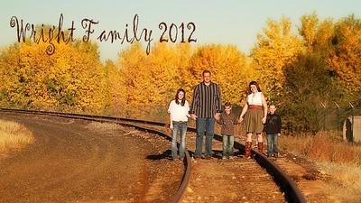 Wright Family - 2012