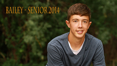 Bailey Senior 2014