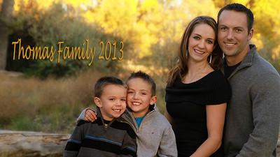 Thomas Family 2013