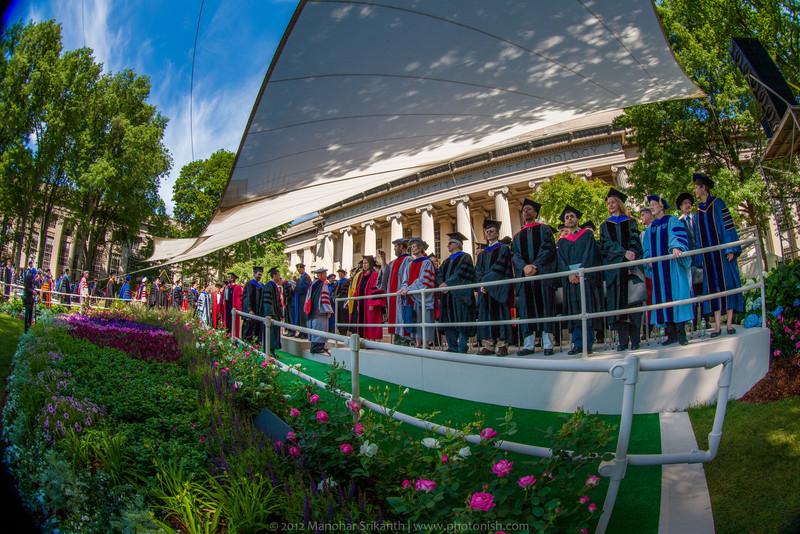MIT Graduation Ceremonies - 2012