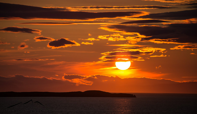 One last sunset shot in Stykkisholmur at 10:45pm.