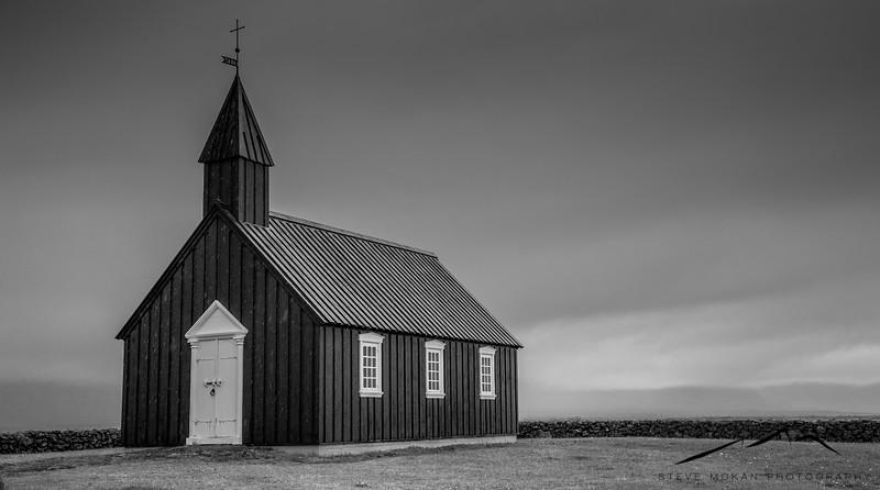 Budirkirkja (black church) on the Snaefellsness Peninsula.