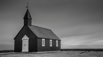 Budirkirkja (black church) on the Snaefellsness Peninsula.