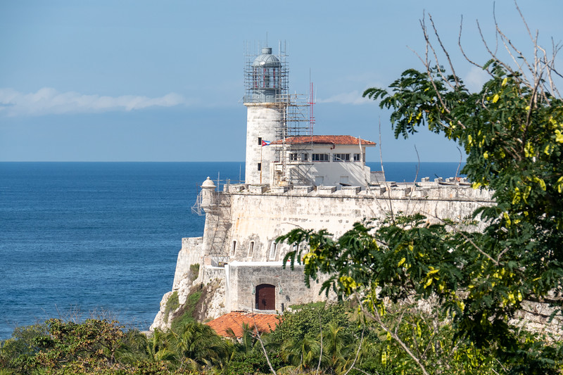 Lighthouse of Faro Castillo del Morro (1845)