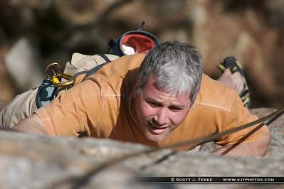 shawangunk climbing - gordon
