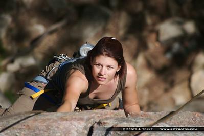 shawangunk climbing - eva