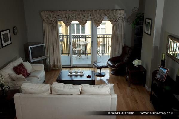 Condo interior Living Room