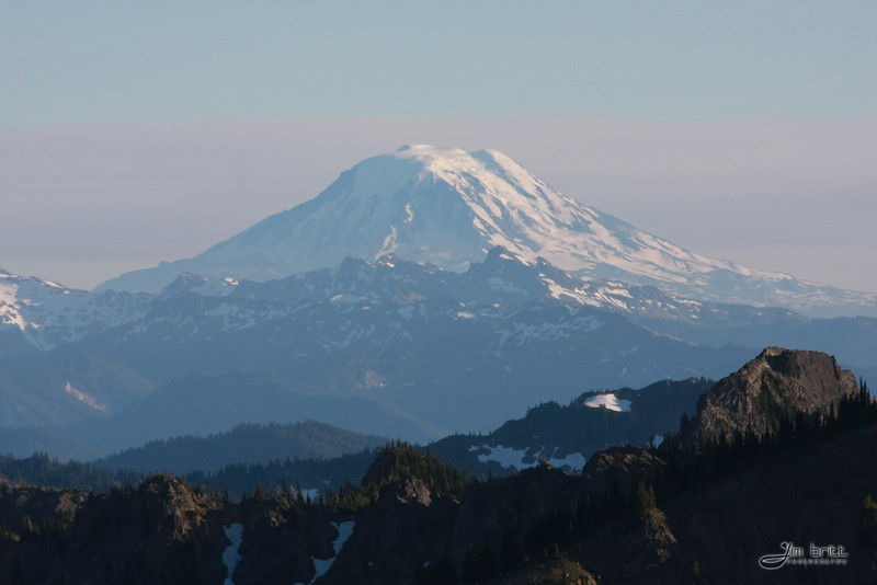Mount Adams taken from the Crystal Mountain Summit.