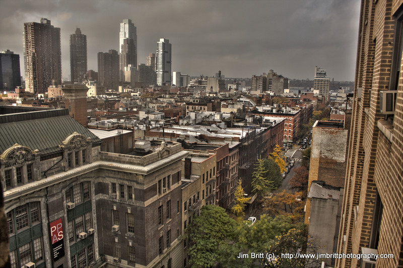 Manhattan, NY - 48th Street and 8th.  HDR shot taken last week.