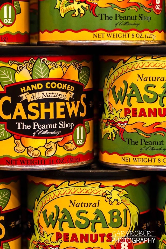 Cans of Cashews