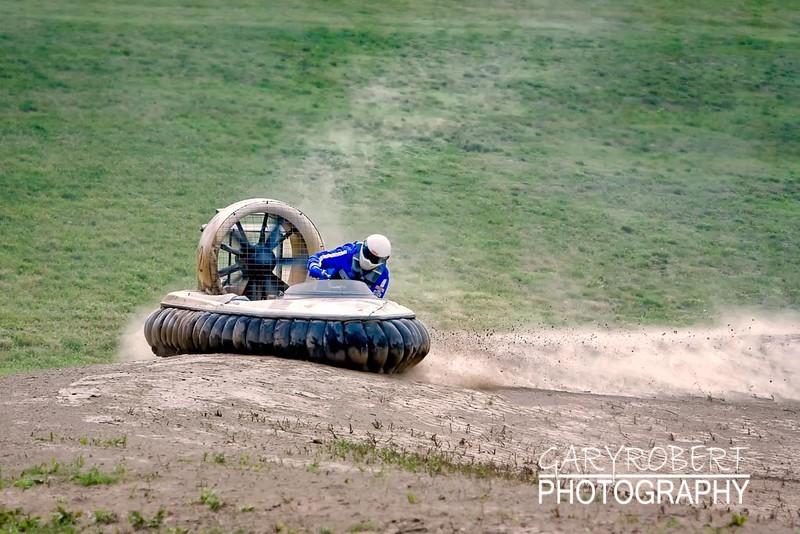 Racer in Revtec Hovercraft