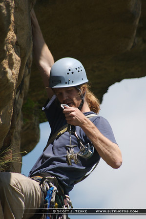 shawangunk climbing - unknown climber