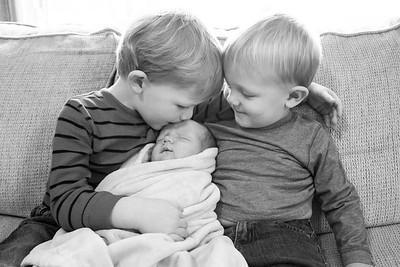 Reid [10 days new] | Louisville, KY Newborn Photographer