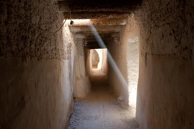 Streets of Ghadames, Libya