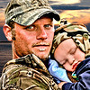 "April 4, 2011<br /> ""Camo Boys""- our son Eric and grandson Quinten after a day at the zoo."