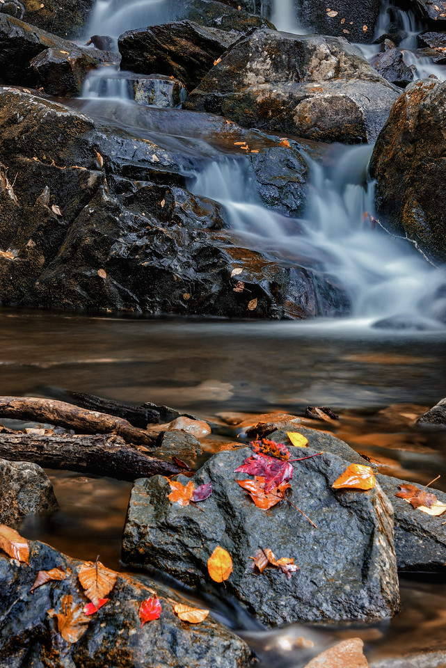 Waterfall in the Fall (Great Smoky Mountain National Park)