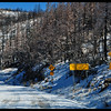 Narrow Mountain Road - Limited Maintenance - Next 10 Miles