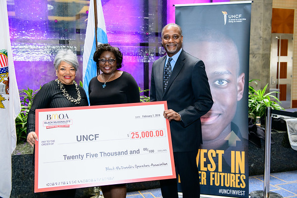 Chicago 2018 Mayor's Luncheon Benefiting UNCF - Photography by LeVern A. Danley III