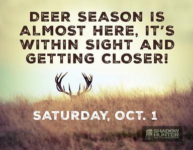 Deer Season - Facebook